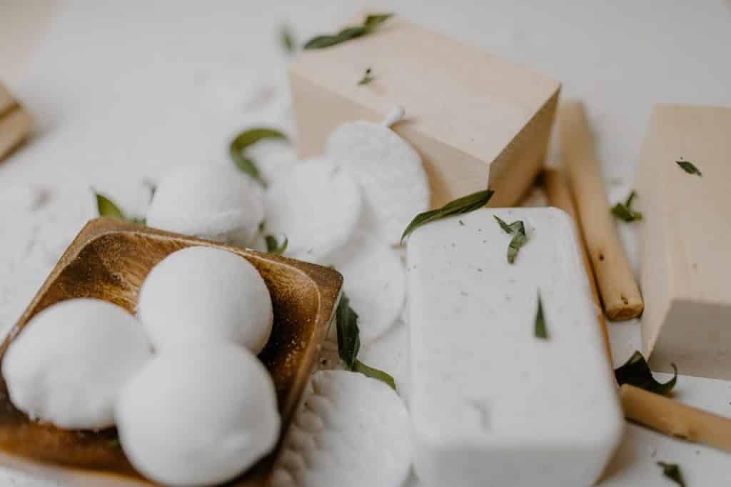 solid cotton soap